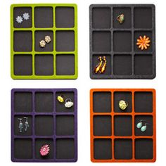 Felt Accessory Tray from the Container Store