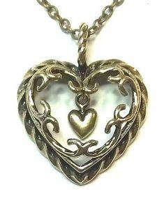 "(Sponsored) KALEVALA KORU KK Finland Bronze Necklace Pendant ""Heart of the House"" Bigger Finland, Jewelry Watches, Bronze, Pendant Necklace, Chain, Detail, Heart, Relationships, Diamonds"