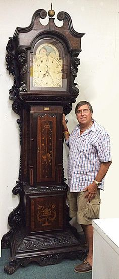 ~ Grandfather Clock attr. to R. J. Horner ~ new.liveauctioneers.com