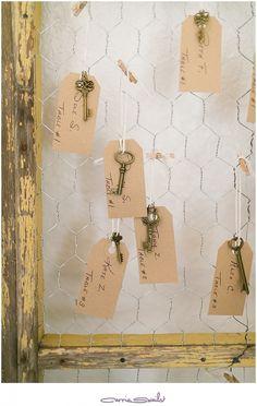 lionscrest manor wedding wedding seating cards vintage wedding vintage keys
