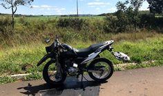 #News  Acidente envolvendo moto e carreta deixa um morto na BR-365 no Alto Paranaíba