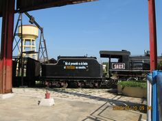 Remedios,Cuba Old sugar refinery-Train to Santa Clara