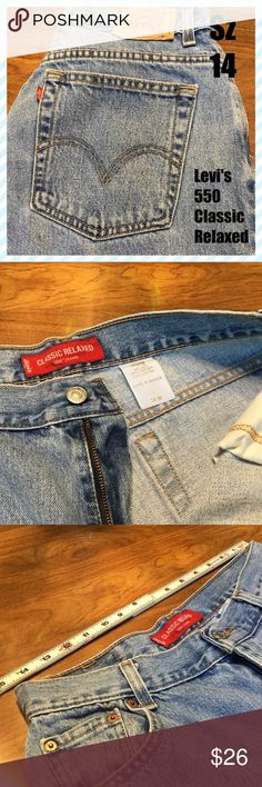 ➕👖Levi's 550 Levi's Classic Relaxed. 100% Cotton. ❤️Suggested User 👍Fast Shipping 💋Top Rated Seller Levi's Jeans