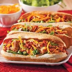 Mexican rolls with meat - Je Cuisine - Mexican Meat Buns – Recipes – Cooking and Nutrition – Pratico Pratique - Beef Recipes, Mexican Food Recipes, Cooking Recipes, Healthy Recipes, Ethnic Recipes, Mexican Meat, Meat Bun, Pan Relleno, Sandwiches