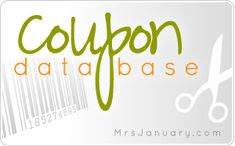 Coupon Database - Hundreds of Coupons Canada.  Mrs. January....frugal living made easy