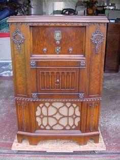 Scott Wellington Console Radio in Collectibles, Radio, Phonograph, TV, Phone, Radios, Tube Radios, 1930-49 | eBay