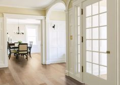 """Give your entryway some love with our Farmhouse Chic 6 1/2"""" Handscraped Maple Hardwood collection. Available in 4 beautiful hardwood colors this maple hardwood collection has so much charm! It retails starting at $4.99 SQ FT."""