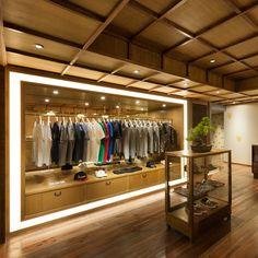 Retail Design | Shop Design | Fashion Store Interior Fashion Shops | Maison Kitsune, Tokyo