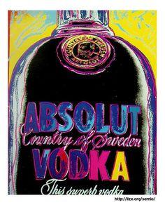 'absolut wodka' von Andy Warhol (1928-1987, United States)