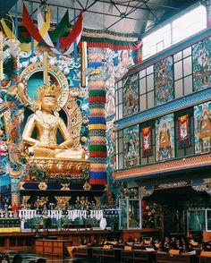 Tibetian Monastery, Coorg