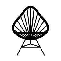 Check out Acapulco Chair icon created by Dianatomic