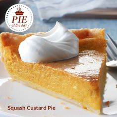 Squash Custard Pie Recipe from Taste of Home -- shared by Mary Kelly, Hopland, California