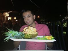 Seafood Fried Rice at Asia Bay-Las Olas water front