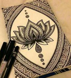 40 absolutely beautiful zentangle patterns for many uses is part of Mandala art - 40 Absolutely Beautiful Zentangle patterns For Many Uses artInspiration Creative Doodle Zen, Mandala Doodle, Mandala Art Lesson, Doodle Art Drawing, Zentangle Drawings, Pencil Art Drawings, Cool Art Drawings, Zentangle Patterns, Art Drawings Sketches
