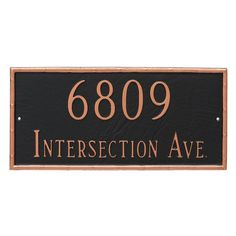 20 Address Plaque Ideas Address Plaque Plaque Plaque Sign