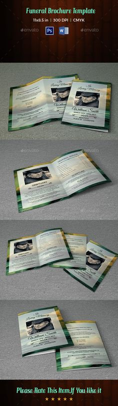 Wedding Photography Tri-Fold Template Wedding, Photos and Photo - event program template