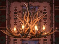 Hey, I found this really awesome Etsy listing at https://www.etsy.com/listing/91515909/32-inch-real-mule-deer-chandelier-17