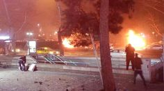 Ankara car bomb: Turkish president vows to defeat terror after dozens killed Ankara, Puerto Rico, Car Bomb, Military Personnel, The Guardian, Vows, Istanbul, The Neighbourhood, Places To Visit