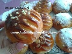 حلويات مليكة لعشاق الحلويات: بروش خفيف بالحليب ولا أروع