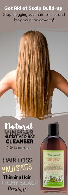 Hair Loss / Vinegar Nutritive Rinse Cleanser. www.justnutritive.com/vinegar-nutritive-rinse-cleanser-hair-loss/