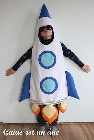 Déguisement pour enfant fusée / Rocket kids costume