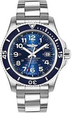Breitling Superocean II 44 A17392D8/C910-162A -- This is an Amazon Associate's Pin. Click this Amazon Affiliate link to review more details.