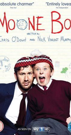 Moone Boy With Chris O'Dowd, David Rawle, Deirdre O'Kane, Peter McDonald. Martin Moone is a young boy who relies on the help of his imaginary friend Sean to deal with the quandaries of life in a wacky small-town Irish family circa Great Tv Shows, New Shows, Chris O'dowd, Bbc Tv, Comedy Tv, Best Shows Ever, Boys Who, Favorite Tv Shows, Movies And Tv Shows