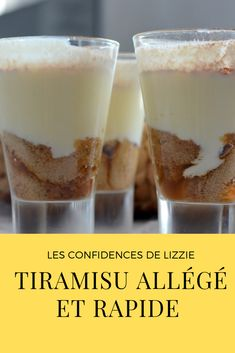 Light Tiramisu: a gourmet and healthy dessert Desserts Sains, Stuffing Recipes, Healthy Desserts, Food And Drink, Pudding, Sweets, Stuffed Peppers, Baking, Breakfast