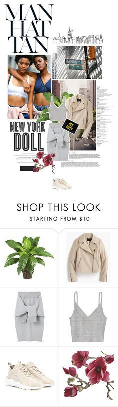 """What I saw in my trip to NY: Sneakers fever!"" by solespejismo on Polyvore featuring Hemingway, Millà, Nearly Natural, J.Crew, Le Ciel Bleu, H&M, NIKE, Kate Spade and Crate and Barrel"