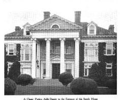 'Albro House', the Robert L. Burton estate designed by Charles W. Romeyn c. 1899.