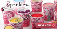 Pink Zebra Sprinkles now come in Ice Cream cartons!! Great Home Fragrances at a value price www.SprinklesByTara.com