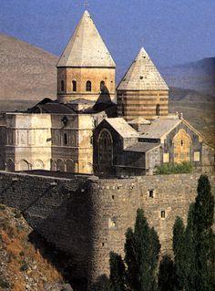 St. Thaddeus Monastery (or the Black Church), Iran - one of the 3 Armenian Monastic Ensembles of Iran given status as a UNESCO World Heritage Site
