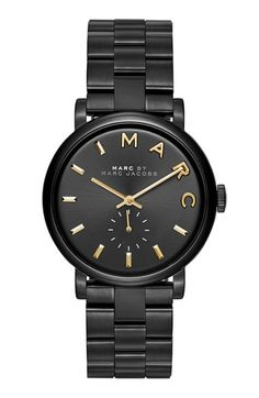 MARC BY MARC JACOBS 'Baker' Bracelet Watch, 37mm | Nordstrom