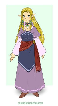 Ask the Sky Family!, Many people asked me what happened to my parents...  Zelda's mother.