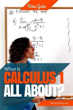 [VIDEO] Overview of Calculus 1 Covering topics you would see in a typical Single-Variable Calculus 1 class (i., Calculus Business Calculus, AB or BC Calculus) Math Help, Fun Math, Maths, Learn Math, Ap Calculus, Algebra, Calculus Notes, Exams Tips, Math Courses