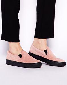 Image 3 of Whistles Lena Slip On Pink Slip On Sneakers