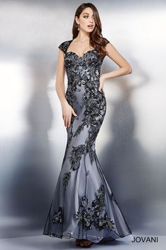Платье Gumental рукава Cap Кружева 33942