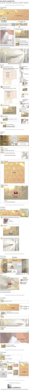 #Social #Media Sizing Cheat #Sheet #web #design #layout #userinterface <<< repinned by www.BlickeDeeler.de
