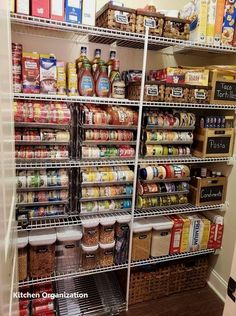 Small pantry organization – waffle cellar – … Kleine Speisekammerorganisation – Waffel Keller – - Own Kitchen Pantry Small Pantry Organization, Home Organisation, Organizing Ideas, Organized Pantry, Pantry Ideas, Organization Ideas For The Home, Pantry Diy, Deep Freezer Organization, Apartment Kitchen Organization