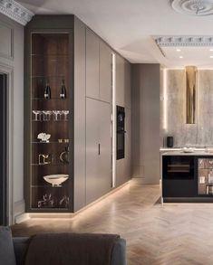 Home Decor Kitchen .Home Decor Kitchen Kitchen Room Design, Luxury Kitchen Design, Kitchen Cabinet Design, Dining Room Design, Home Decor Kitchen, Interior Design Kitchen, Kitchen Tools, Kitchen Ideas, Small Modern Kitchens