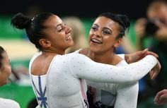 Team GB's Becky and Ellie Downie!