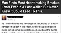 Let this be a lesson to us all… never live life with regrets. You have to read this: H/T: Tickld Please share this incredible, touching story with friends on Facebook …Share