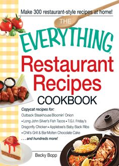 Everything Restaurant Recipes Cookbook #cook #book