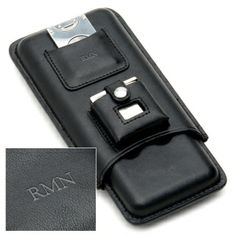 Leather Travel Cigar Case Gift Set, from HomeWetBar.com 3 years