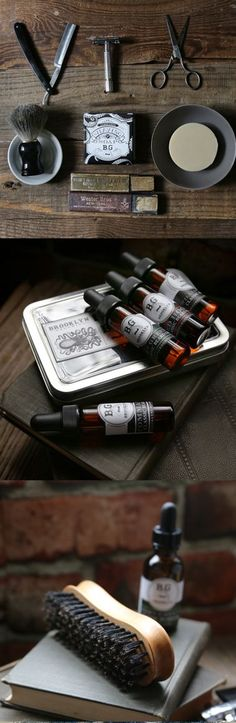 Handmade men's grooming products by Brooklyn Grooming