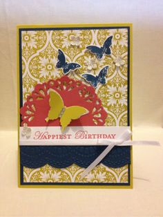 Stampin' Up! Ideas & Supplies    Love the color combination!