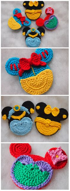 289 Best Disney Crochet Patterns Images On Pinterest Crochet Dolls