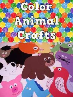 Back to School Fun with Color Animals: PreK, Transitional Kindergarten, Kindergarten- craftivities for Brown Bear #backtoschool #kindergarten