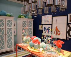 creative display booths   ... modern vintage home: research   creative spring/summer store displays