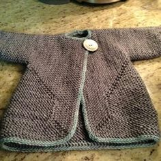 Ravelry: saradenbo's Baby Surprise Jacket. (haha just learned how to toot my own horn!) by shopportunity